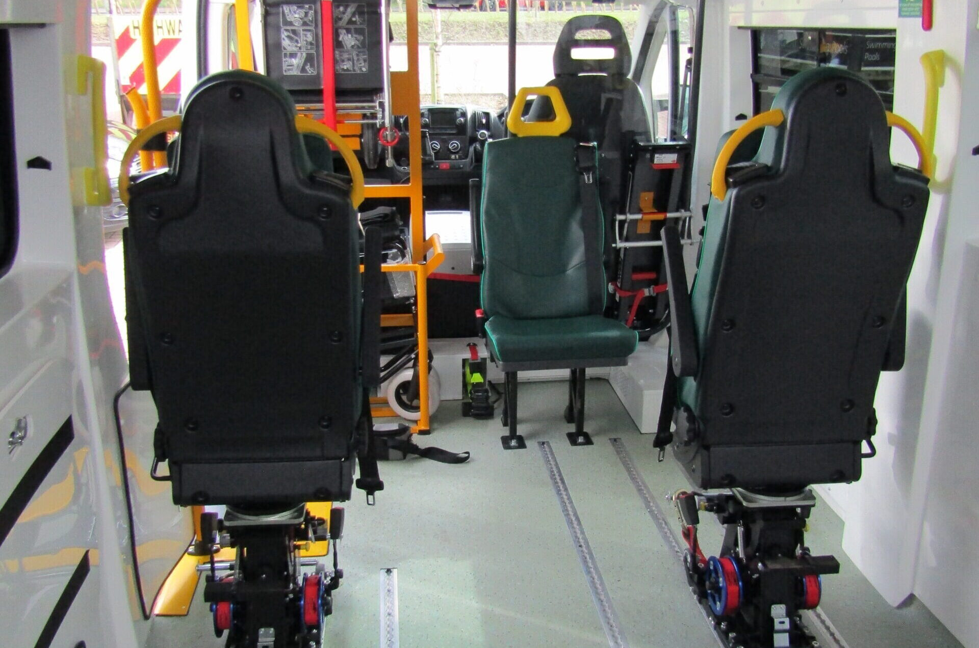Cost effective vehicle maintenance for local authorities and inclusive transport providers.